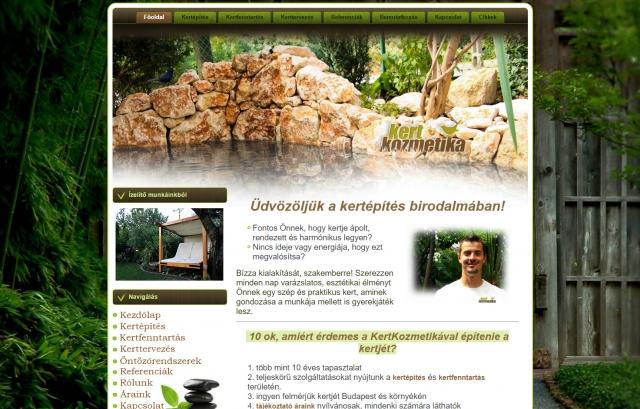 Kertkozmetika - Minőségi kertépítés és kertfenntartás